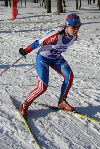 На чемпионате россии по лыжным гонкам