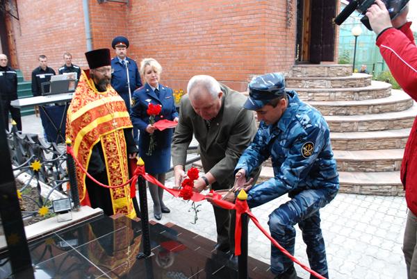 В рязанской ИК-2 открыли памятник сотрудникам — участникам Великой Отечественной войны