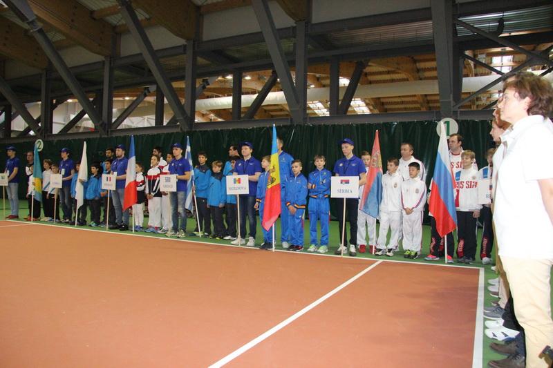 Тула открытие теннисной академии фото