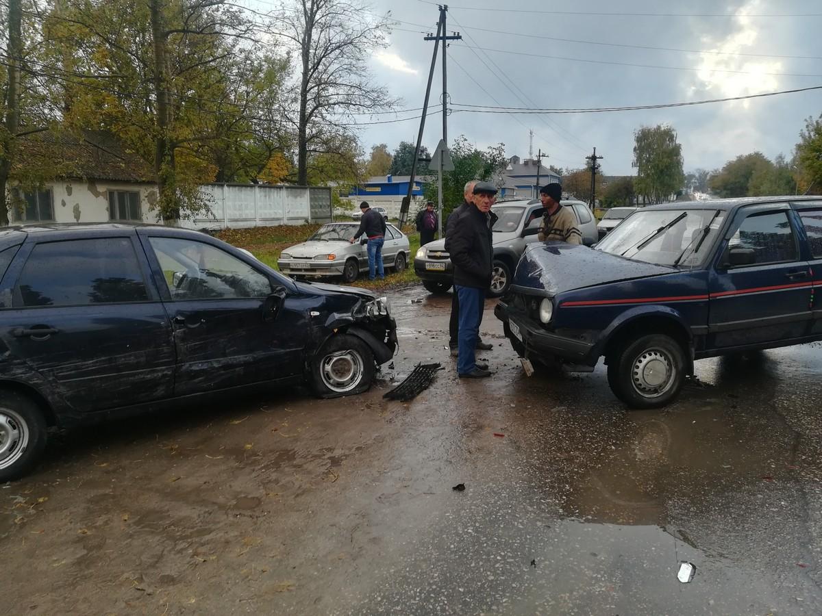 Вцентре Скопина случилось ДТП спострадавшими