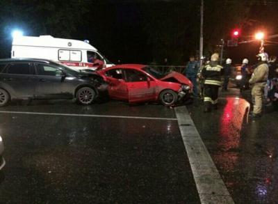 НаМосковском шоссе вРязани случилось серьёзное ДТП