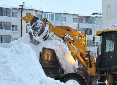Услуги по уборке снега с вывозом