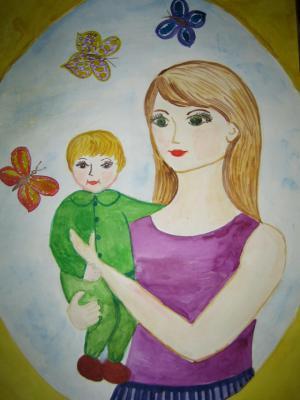 детские рисунки о городе касимове фото