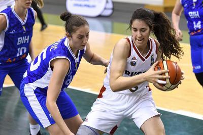 Баскетболистки Курска всборной Российской Федерации вышли вчетвертьфинал чемпионата Европы