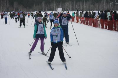Рязанцы приняли участие в «Лыжне России-2016»