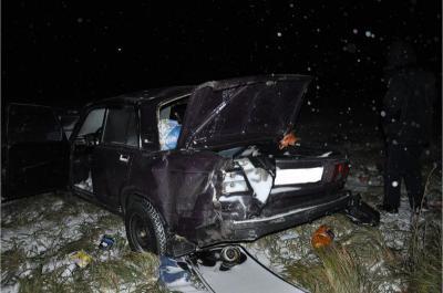 Под Рязанью умер пассажир вылетевшей вкювет «пятерки»