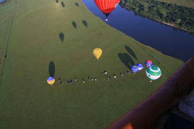 В Рязани стартует VIII Международный культурно-зрелищный спортивный фестиваль воздухоплавания «Небо России 2010»
