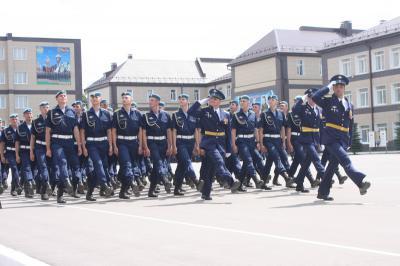 135-й выпуск молодых офицеров состоялся вРязанском высшем воздушно-десантном училище