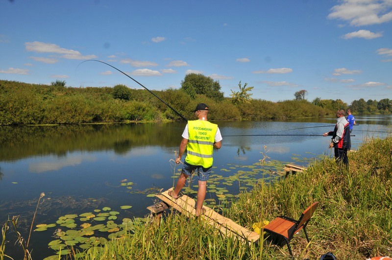 Рыбалка в рязанской области рыбновский район