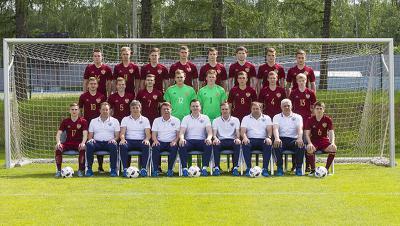 Юношеская сборная Российской Федерации разгромила сверстников изЛатвии