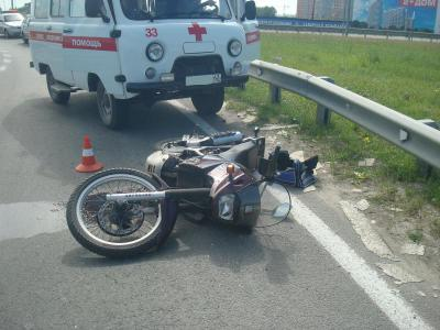 Видео сместа смертоносного ДТП сучастием мотоциклиста