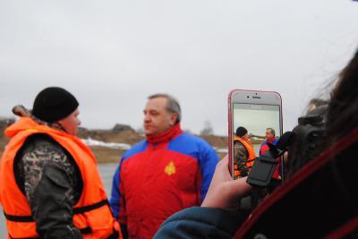 Вцентральные регионы Российской Федерации  пришел весенний паводок