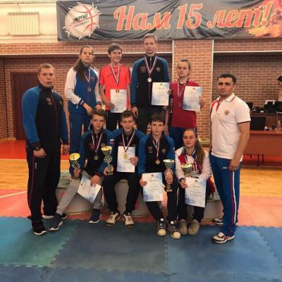 Рязанцы выиграли 4 золота юниорского главенства ЦФО потхэквондо