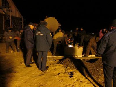 ВМурмино рабочий был живьем похоронен под землей надне колодца
