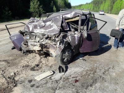 В трагедии под Рязанью умер шофёр ВАЗ-2107, пострадали двое