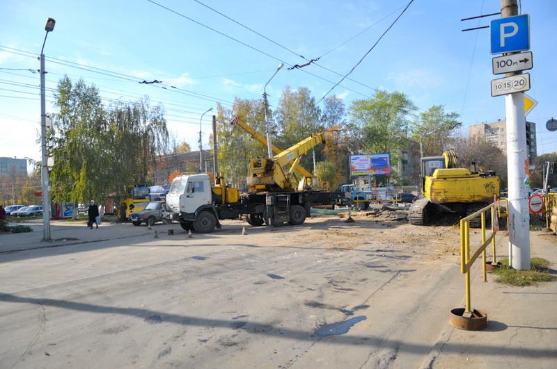 На улице Черновицкой в Рязани закроют движение до конца сентября