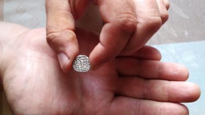 В Скопинском районе местный житель нашёл монету Золотой Орды