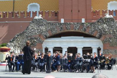 Бавленский ансамбль выступил в столице России устен Кремля
